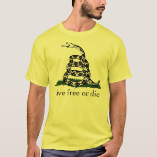 Gadsden Flag Live Free or Die T-Shirt