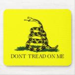 Gadsden flag mouse pads