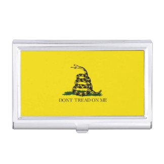 Gadsden Flag Case For Business Cards