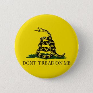 Gadsden Flag Pinback Button