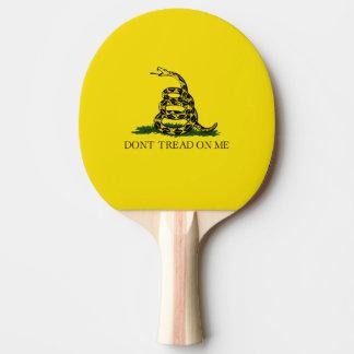 Gadsden Flag Ping-Pong Paddle