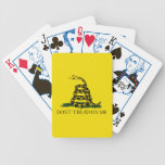 Gadsden Flag Playing Cards