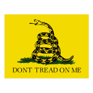 Gadsden Flag Postcard