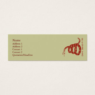 Gadsden Flag Profile Cards