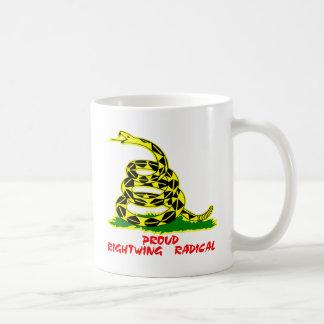 Gadsden Flag Proud Rightwing Radical Mug