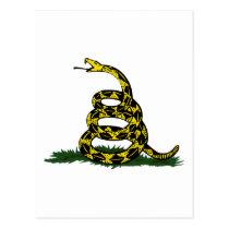 Gadsden Flag Snake Postcard
