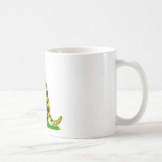 Gadsden Flag Snake Wrapped Around Gun Coffee Mug