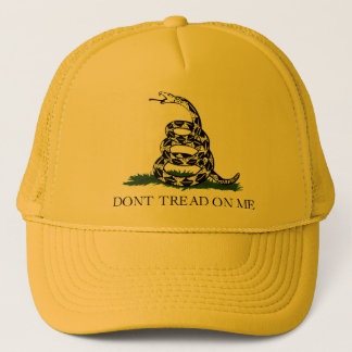 Gadsden Flag w/Transparent Background Trucker Hat
