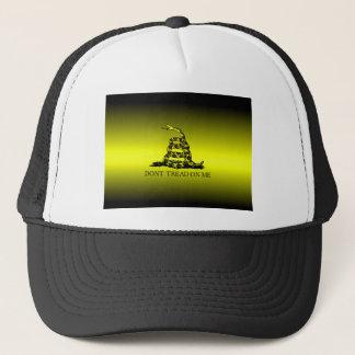 Gadsden Flag Yellow and Black Fade Trucker Hat