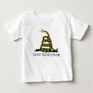 Gadsden Flag, Yellow Background Tee Shirt