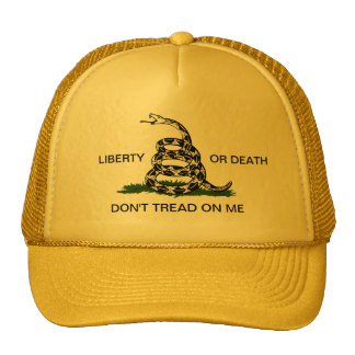 Gadsden Liberty or Death Don t Tread On Me Hat