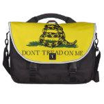Gadsden no pisa la bandera bolsas de portatil