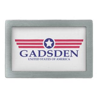 Gadsden Pride Rectangular Belt Buckle