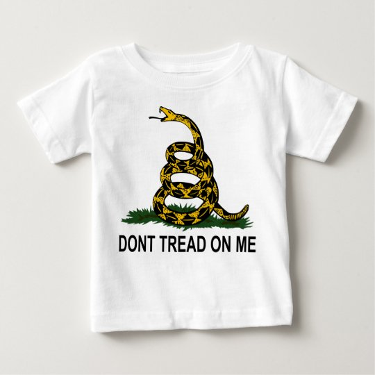 "Gadsden Rattlesnake ""Don't Tread On Me"" Baby T-Shirt"