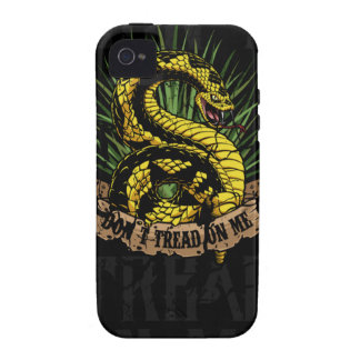 Gadsden Rattlesnake iPhone 4 Case-Mate iPhone 4 Covers