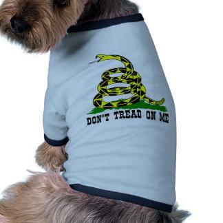 Gadsden Snake Don't Tread On Me Doggie Tee