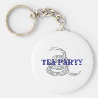 Gadsden Tea Party Keychain