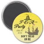 Gadsden - Tea Party Like It's 1773 Magnet
