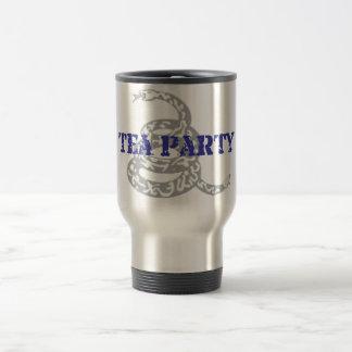 Gadsden Tea Party Travel Mug
