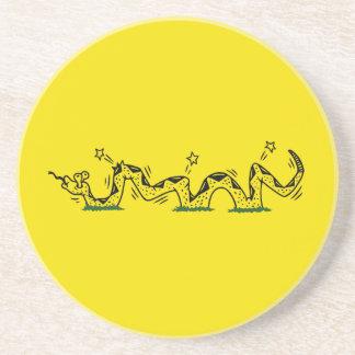 Gadsden Trodden Coaster