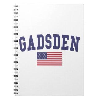 Gadsden US Flag Notebook