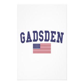 Gadsden US Flag Stationery