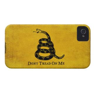 Gadsden Vintage Flag iPhone Case iPhone 4 Case