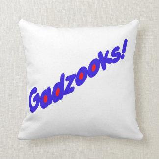 Gadzooks! Throw Pillow