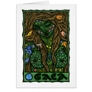 Gaea Stationery Note Card