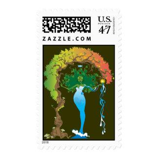 Gaea Postage Stamps