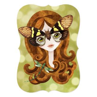 Gaeana Cicada Fairy Princess Invitation