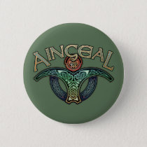 Gaelic Angel Button
