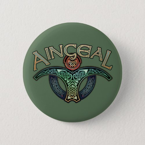 Gaelic Angel Button