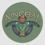 Gaelic Angel Stickers