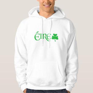 Gaelic Éire Ireland Shamrock Symbol Irish Heritage Hoodie