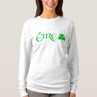 Gaelic Éire Ireland Shamrock Symbol Irish Heritage T-Shirt
