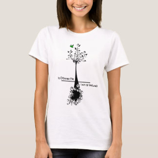 Gaelic - I am of Ireland (Tree Roots) Shirt