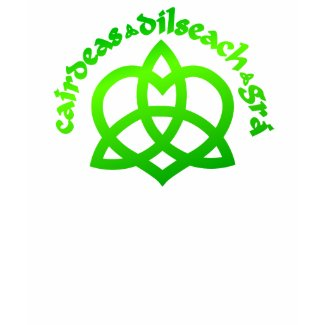 Gaelic Love Ladies Black Petite T-shirt shirt