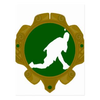 Gaélico irlandés Handball.png Postal