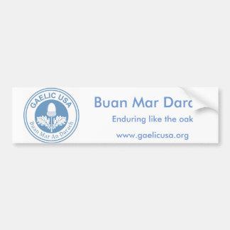 GaelicUSA Bumpersticker Bumper Sticker