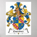 Gaertner Family Crest Posters