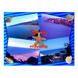 Gaeta Greetings Postcard
