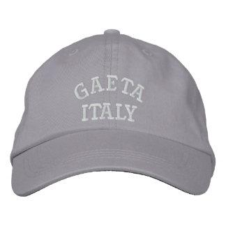 Gaeta Italy Embroidered Baseball Hat
