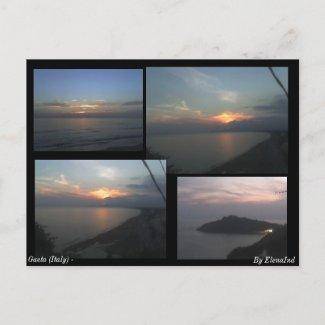Gaeta (Italy) Sunshine Postcard postcard