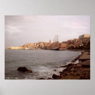 Gaeta View Poster