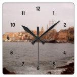 Gaeta View Wall Clock