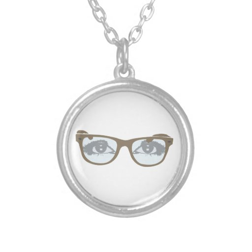Gafa ojos glasses de eyes collar