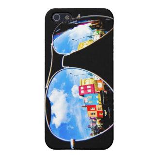 Gafas - Camden comercializa Londres - caso del iph iPhone 5 Fundas