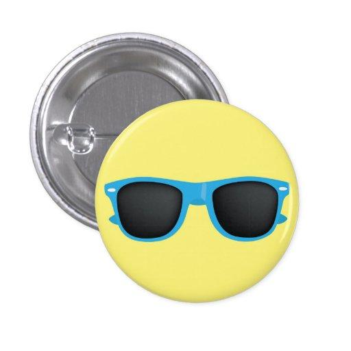 Gafas de sol azules pin