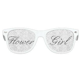 Gafas de sol blancas del florista del damasco lentes de sol